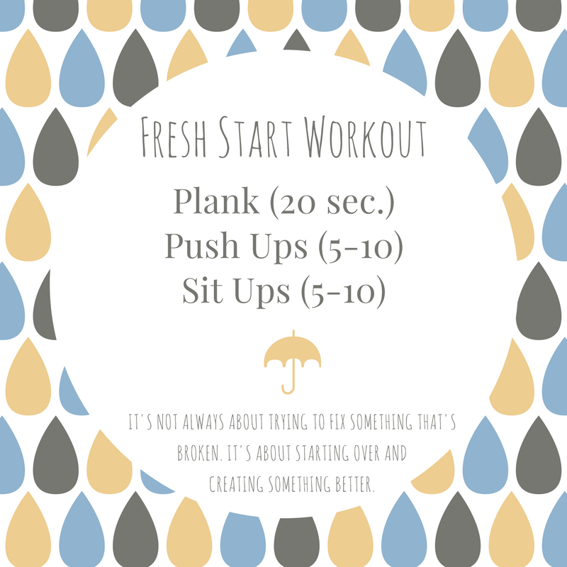 Fresh Start Workout